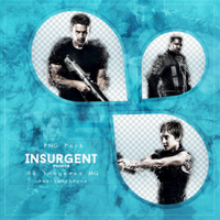 INSURGENT (Promo) PNG Pack #1 by LoveEm08