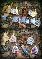 Fairy Door Lot by ArtByStarlaMoore