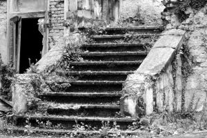 Abandoned House Stairs 1 by Orsoni