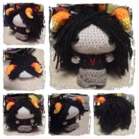 Chibi Aradia Plushie from Homestuck by Art-in-motion-1