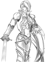 Fiora - The Grand Duelist by sanora