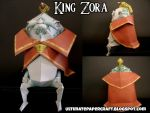 King Zora XVI Papercraft by squeezycheesecake