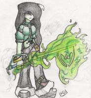 Shego in Kingdom Hearts by kitoko