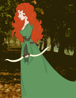 Merida by NiveousLamia