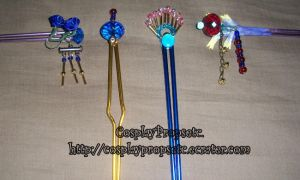 Lulu Hair sticks improved by CosplayPropsEtc