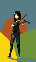 Violin by ashwara