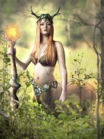 Guardian of the Forest by IdaLarsenArt