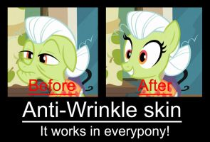 Pony meme - Anti wrinkle skin by Twistermon