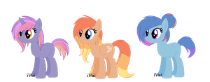Sunset/Sunrise Themed Pony Adopts ((CLOSED)) by iVuiAdopts