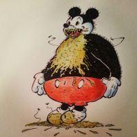 mickey at the vomitorium by jhames34