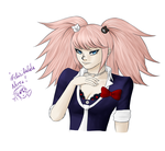 Junko Enoshima for birthday by Pandora-Valshe