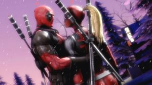 Deadpool and Lady Deadpool [2] by AngryRabbitGmoD