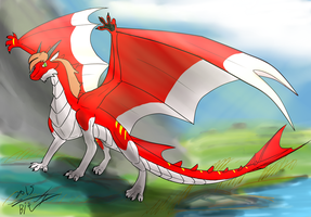 Picture:Dragon by wolfyr45