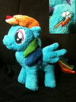 Rainbow Dash Plush by Cryptic-Enigma
