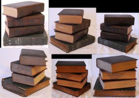 Books Pack 3 by TwilightAmazonStock