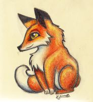 Little Fox by keinneb