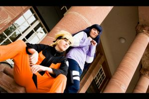 NaruHina - On my side by Dark-Uke