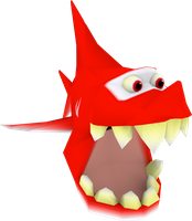 Shark (Crash The Wrath of Cortex) Model by CRASHARKI