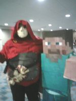 Jack of Blades and Mine craft by karrish
