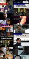 Dear pampered Sherlock - My SuperWhoLock playlist by classicbluebell