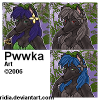 [Commission] Pwwka by ridia