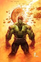 Hulk by Eddy-Swan-Colors
