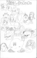Kirby and Dedede Adventures by LordRobrainiac