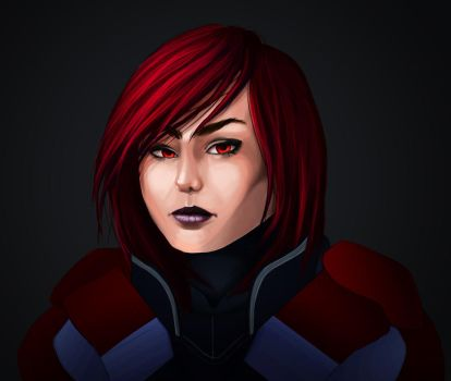 Shepard? Is that you? by ghostlysilver