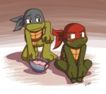 Raph's melted ice cream by Tigerfog