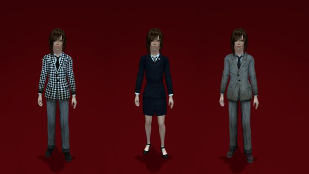 FONV Child Conversions 1950 Style Suit by Shenhua