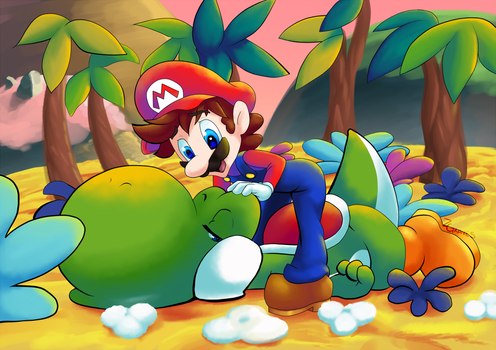 Yoshi is nothing doing by Z-Graves
