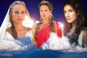 The thress goddesses