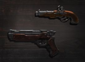 Pistol Designs by richytruong