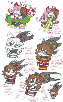 MissKitty Annie shade other Universes by Kittychan2005