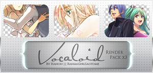 Vocaloid Render Pack by RanmaGirlSaotome