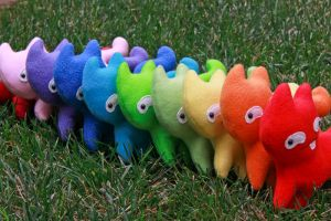 Danny the Derp Cat Rainbow Army! by arixystix