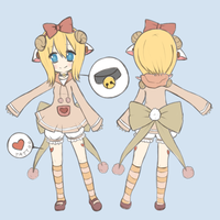 Fuwa OFFICIAL Ref by xDeliciousDemise