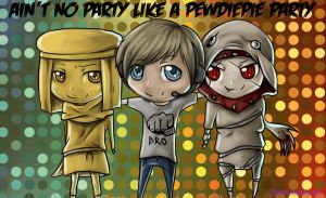 Pewdiepie Party! by ThatNekohacker