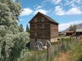The Benson Grist Mill by Raptorguy14