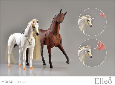 Horse bjd doll 02 by leo3dmodels