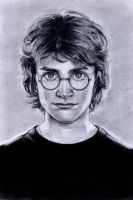 Daniel Radcliffe as Harry Potter by anitafigler