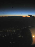 View from the Plane at Night by Dakota15