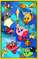 Kirby And The Amazing Mirror by UltimateYoshi