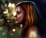 Hermione granger in search the Horcrux's by LeafarLavigne
