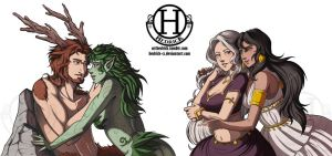 + COM + Love Is All + Lady-woods by Hedrick-CS