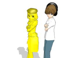 Pewdiepie and Stephano- Best Bros by DibFan4LifeX3