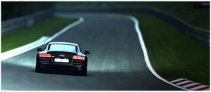 Audi R8 in Green Hell 4 by 1R3bor