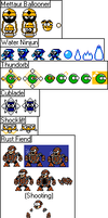 Original Megaman Enemies Pt. 4 by Dimensional-Expander