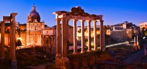 The Roman Forum by xthumbtakx