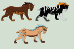 Saber Tooth Cat Adopts by FrostedAdopts